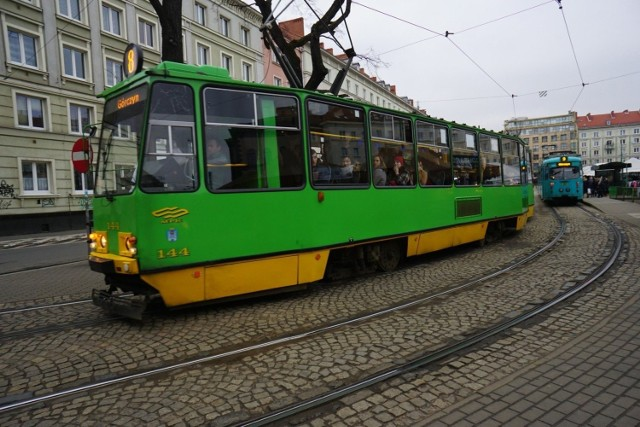 Tramwaj linii nr 10 doznał awarii w niedzielę rano na ul. 28 Czerwca 1956 r.