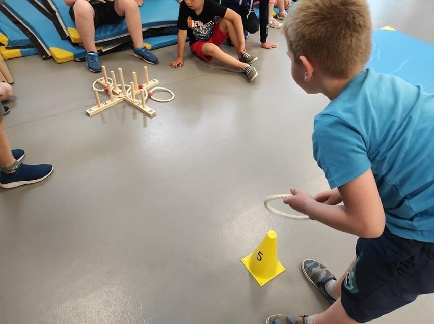 """Projekt """"Czas na sport z ANWILEM!"""" w Szkole Podstawowej nr..."""