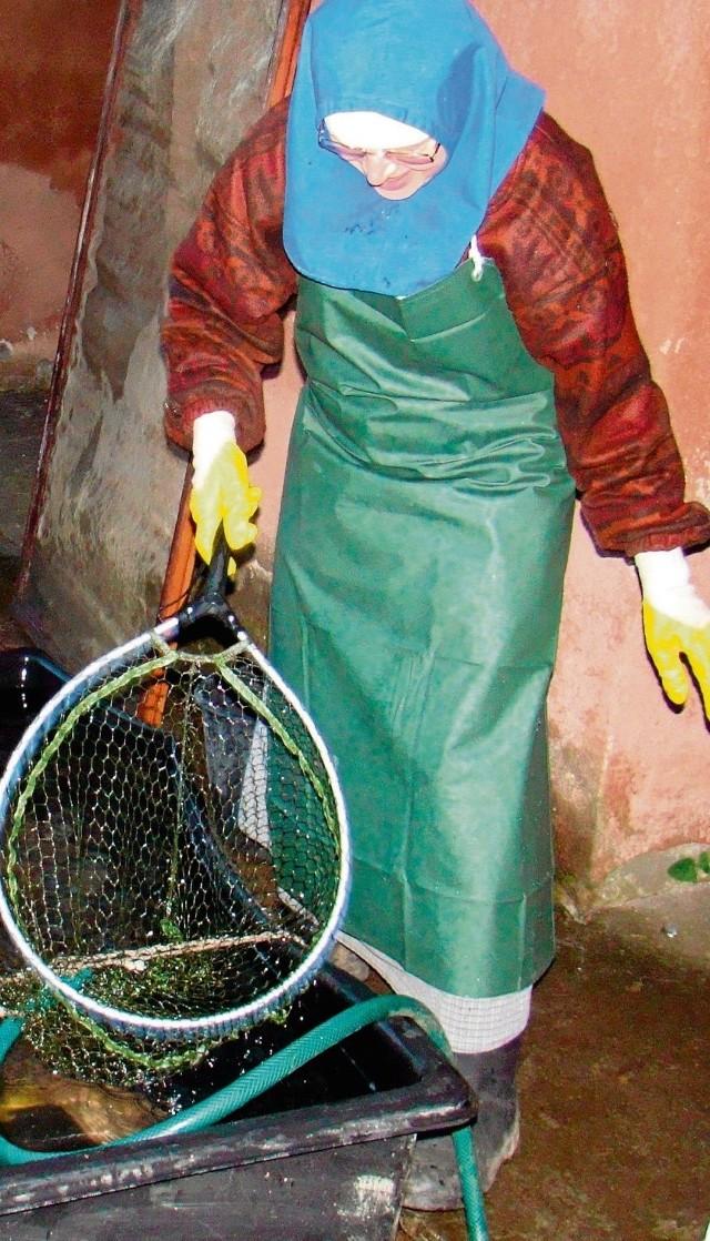 Siostra Faustyna ma zagwarantowany obfity połów