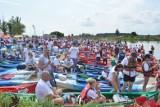 Drohiczyn. Spływ kajakowy rzeką Bug na 500 kajaków. Impreza wraca po pandemicznej przerwie (ZDJĘCIA)