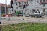 Trwa remont skrzyżowania ulic Wrocławskiej i Łużyckiej w Bytomiu. Utrudnienia potrwają do połowy grudnia