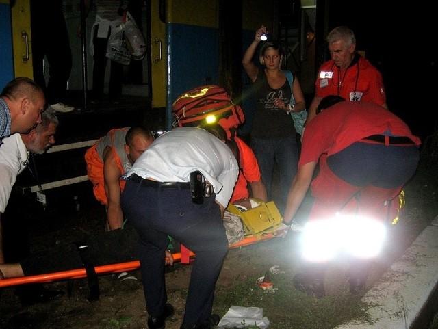 Do wypadku doszło kilka kilometrów pod Kostrzynem