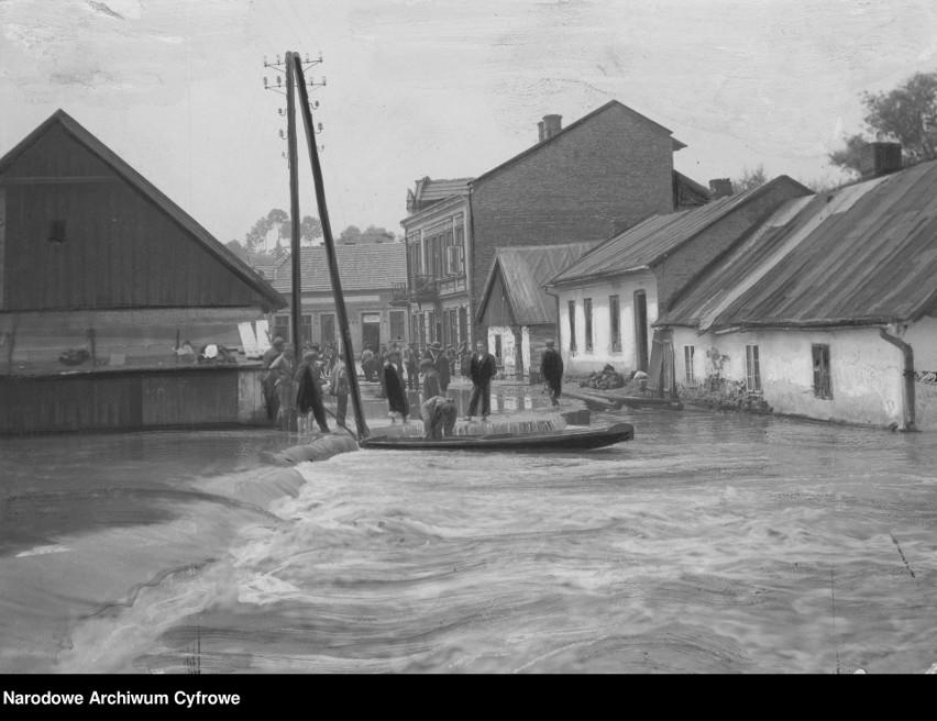 13 - 22 lipca 1934: największa powódź w międzywojennej...