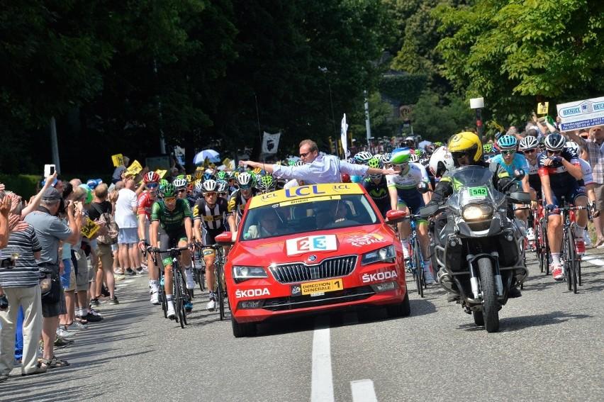 Skoda prowadzi w Tour de France
