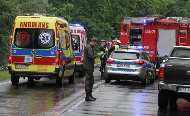 Do tragicznego wypadku doszło 3 lipca na drodze wojewódzkiej 871 w Stalowej Woli