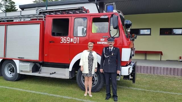 Beata Augustynek jest jedną z czterech kobiet w województwie pełniących funkcję prezesa OSP