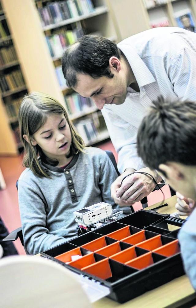 Andrzej Stawowy i młodzi adepci techniki
