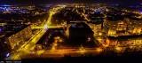 Zabrze nocą wygląda pięknie. Zobaczcie niesamowite zdjęcia z drona. Część trzecia ZDJĘCIA