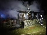 Pokośno. Pożar wybuchł nad ranem. Dom spłonął doszczętnie (zdjęcia)