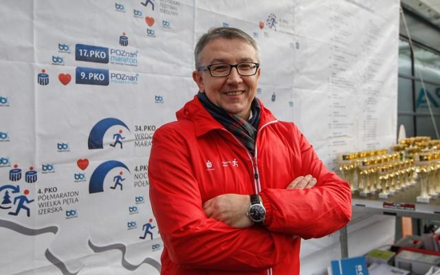 Aleksander Puła z podziwem patrzy na rozwój biegania w stolicy Podkarapcia