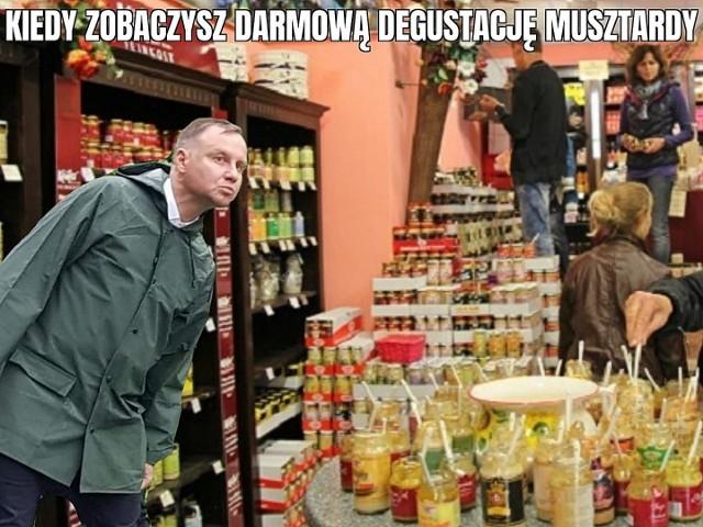 Kiełbasa wyborcza Andrzeja Dudy to... musztarda? Zobacz memy internautów.Zobacz kolejne zdjęcia. Przesuwaj zdjęcia w prawo - naciśnij strzałkę lub przycisk NASTĘPNE
