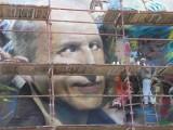 Gigantyczny portret aktora ma być dziś gotowy!