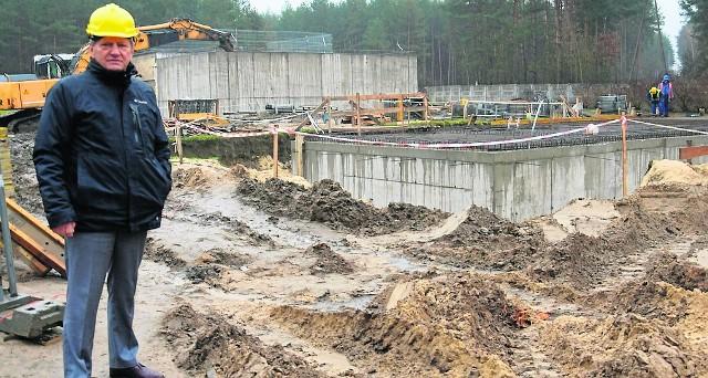 Dla Tadeusza Domińczaka, wójta gminy Sobków najważniejsza jest rozbudowa oczyszczalni ścieków w miejscowości Sobków. Zadanie ma zostać wykonane w całości pod koniec 2019 roku.