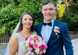 """Piękny ślub. Piłkarz Staru Starachowice Mateusz Jagiełło powiedział """"tak"""" wybrance swojego serca Darii [ZDJĘCIA]"""