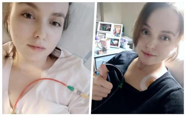 Marika Wojtkowska z Włocławka choruje na białaczkę