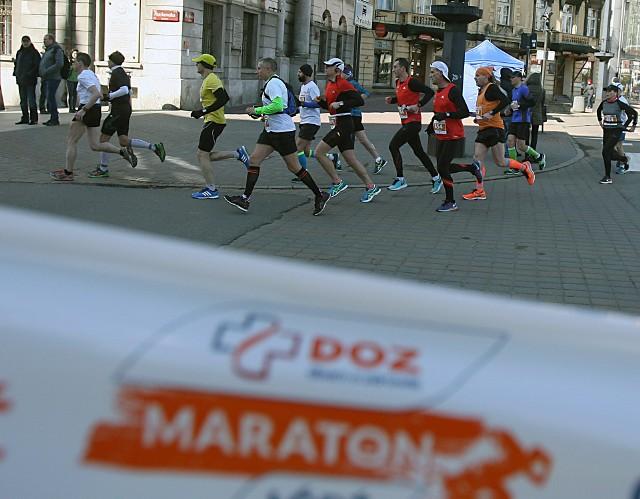 Na trasie DOZ Maratonu Łódź