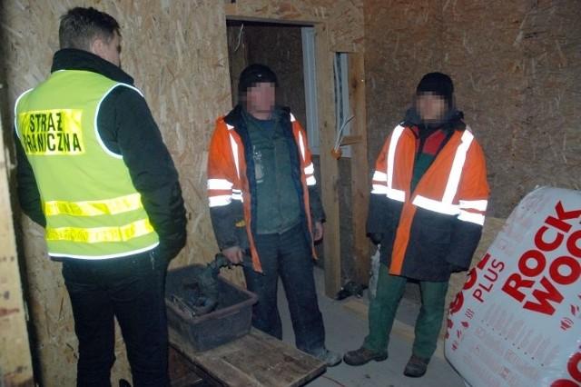 Straż Graniczna odkryła na budowie czterech Ukraińców