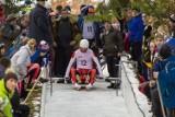Olimpiada Młodzieży. W Karpaczu udało się poślizgać saneczkarzom (ZDJĘCIA)