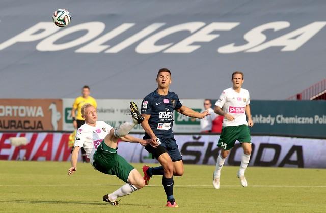 Łukasz Zwoliński we Wrocławiu zaliczył asystę, ale miał więcej ciekawych zagrań, dodawał jakości drużynie.