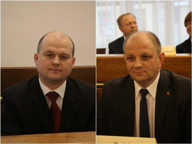 Piotr Popiel i Tomasz Pitucha (obaj z PiS)