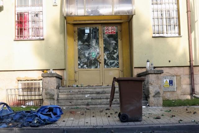 Komisariat policji w Lubinie po zamieszkasz wywołanych śmiercią 34-latka