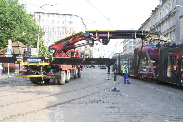 Na Pomorskiej często dochodziło do wykolejeń tramwajów