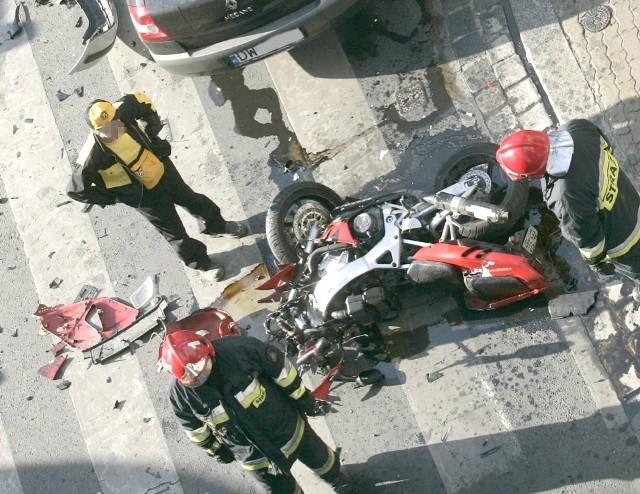 W 2016 r. w regionie doszło do 187 wypadków z udziałem motocykli
