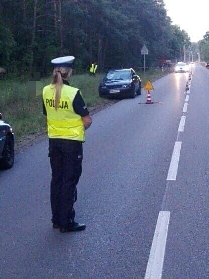 Ciechanowiec: Śmiertelnie potrącenie rowerzysty. 60-latek zginął po potrąceniu przez passata
