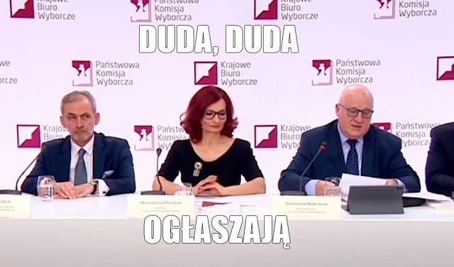 Andrzej Duda prezydentem, a internet ma memy. Zobacz, co internauci sądzą o wyborach 2020 na kolejnych slajdach galerii.Zobacz kolejne zdjęcia. Przesuwaj zdjęcia w prawo - naciśnij strzałkę lub przycisk NASTĘPNE