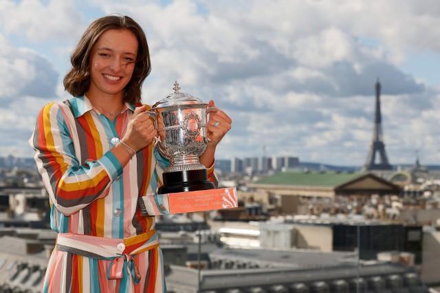 Iga Świątek to tegoroczna mistrzyni Roland Garros