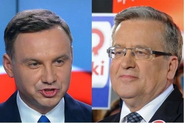 Debata prezydencka 2015 online: Duda vs. Komorowski w TVN. Zobacz stream w internecie na żywo.