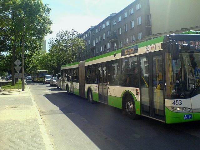 Tędy nie będą już jeździły autobusy. Nowe trasy prowadzą przez aleję Piłsudskiego.