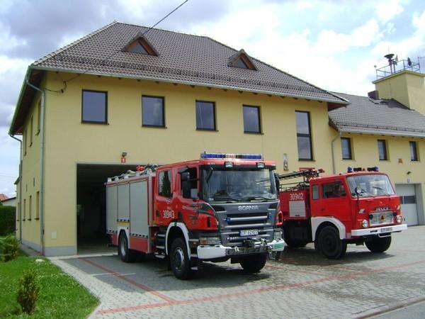 OSP w Bierkowicach.