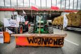 Protest rolników w Kołaczkowie. Agrounia domaga się rozmów z premierem [zdjęcia]