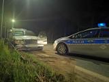 Nocny pościg za mercedesem w Koszalinie. Kierowca zbiegł do lasu [ZDJĘCIA, WIDEO]