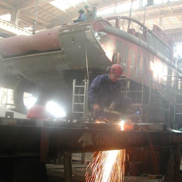 W kozielskiej stoczni pracuje ok. 20 obcokrajowców.