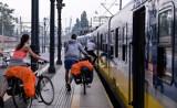 Rowerzyści jeżdżą tunelem dworca PKP. Straż Ochrony Kolei wystawia mandaty