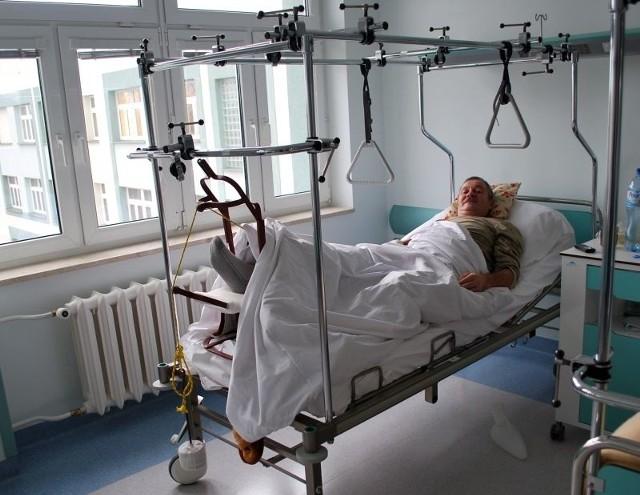 - W lepszych warunkach będzie się milej zdrowiało - mówi Tadeusz Struniawski, pacjent oddziału ortopedycznego