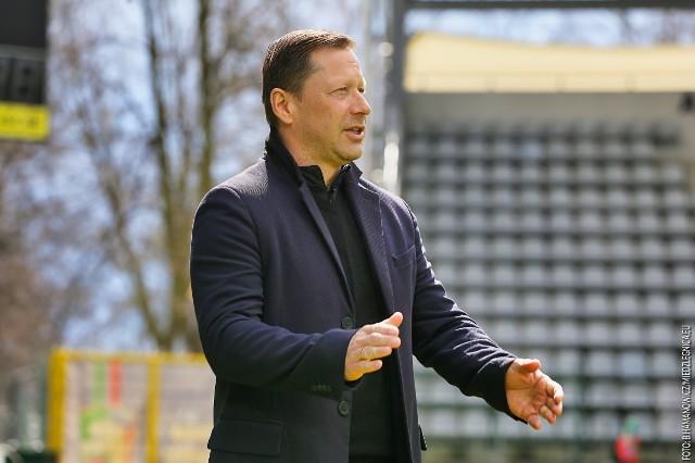 Dariusz Banasik, trener Radomiaka.