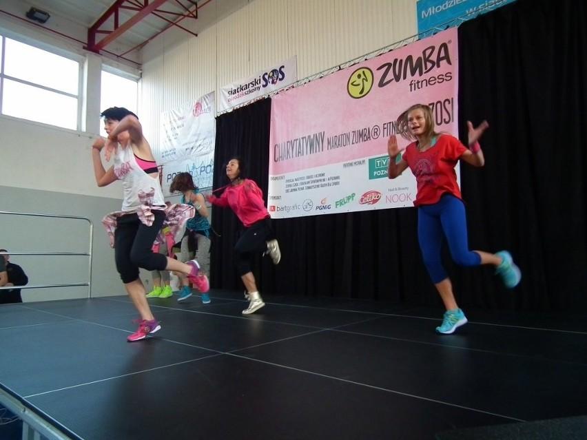 Charytatywny maraton zumby dla chorej Zosi