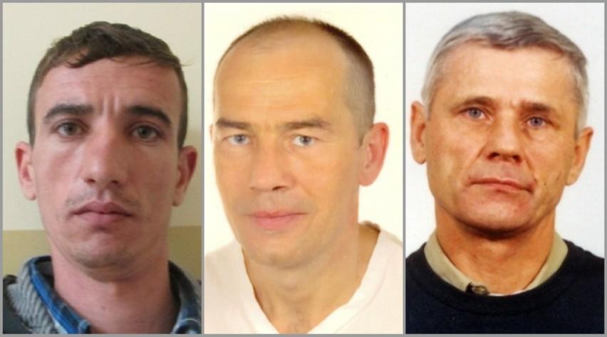 Oto mężczyźni poszukiwani przez policję w całej Polsce za...