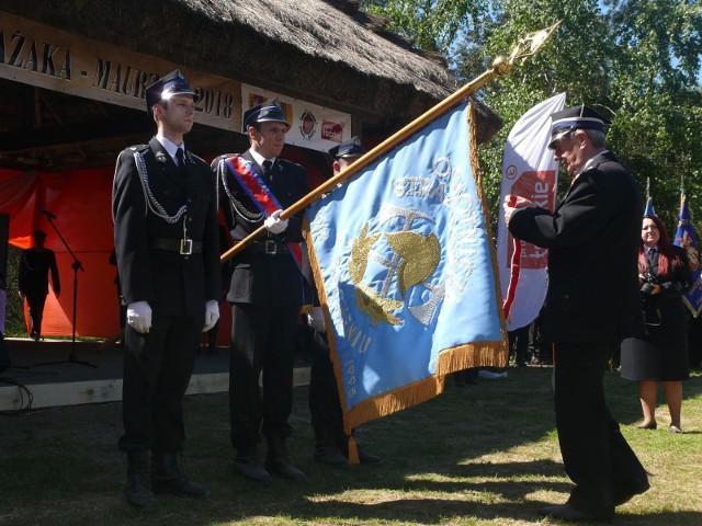Strażackie odznaczenie otrzymuje OSP w Bocheniu