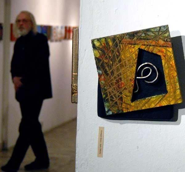 "Fragment ekspozycji ""art20""."
