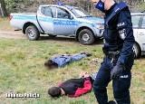 Jechał bez prawka i nie zatrzymał się do kontroli policyjnej. Gonitwa za 18-latkiem ulicami Lubska