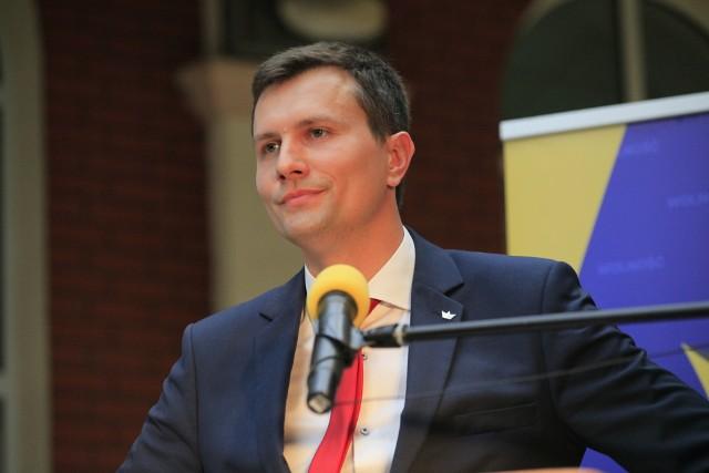 Krzysztof Lipczyk, kandydat na prezydenta Łodzi partii Wolność i Kongresu Nowej Prawicy