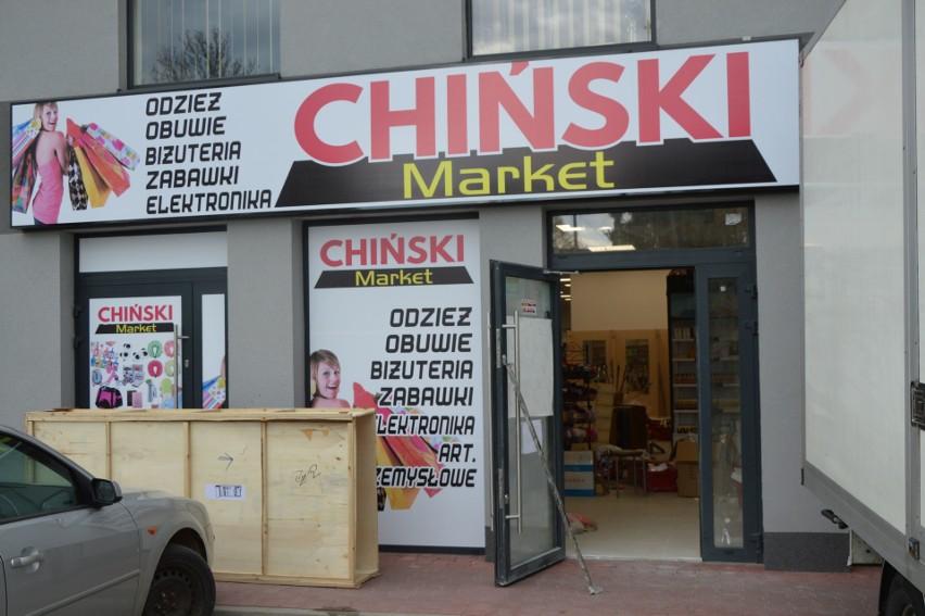 Chiński market w Suchedniowie - w czwartek wielkie otwarcie!