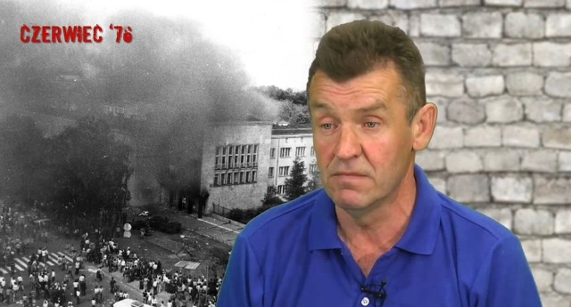 """Krzysztof Gniadek pięć lat temu był jednym z bohaterów filmu dokumentalnego """"Jesteśmy historią""""."""