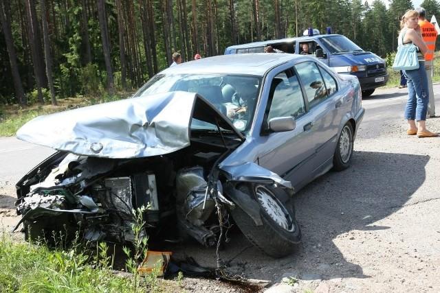"""Wypadek w Jurowcach na """"ósemce"""""""