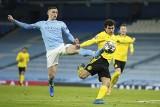 Liga Mistrzów. Manchester City - Borussia Dortmund. Drużyna Guardioli bliżej półfinału, ale w końcu straciła gola