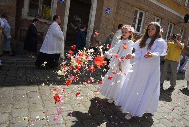 Opole: Uroczystości Bozego Ciala